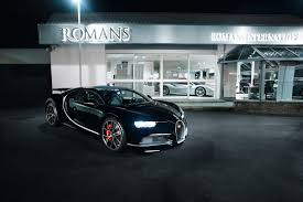 first bugatti first used bugatti chiron in uk said to make owner 1 3 million profit