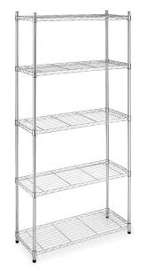 20 inch gorilla stand black friday at home depot amazon com 5 shelf steel wire tier layer shelving 72