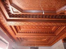 Decoration Platre Moderne Marocain by Plafonds En Bois Style Marocain Decoration Plafond