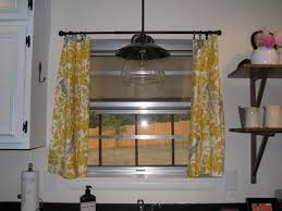 Yellow Brown Curtains Kitchen Extraordinary Yellow And Gray Kitchen Curtains Kitchen
