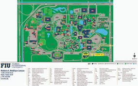 Miami University Campus Map by Maidique Campus 2d Map