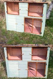Double Rabbit Hutches 5ft Double Height Rabbit Hutch U2013 Chicubes