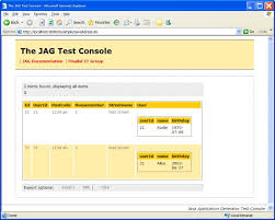 jag java application generator