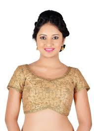 golden blouse vamas designer ready made blouse gold vdbmx486slg vm n a