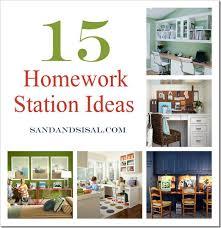 kids homework station 15 homework station ideas sand and sisal