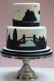 wedding cake decorating classes london london and northumberland silhouette wedding cake etoile bakery