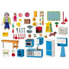 cuisine playmobile playmobil 5329 cuisine achat vente de jouet priceminister