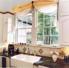 fresh bay window above kitchen sink taste
