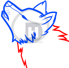how to draw a howling wolf easy step by step drawing guide by