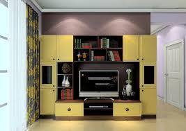 Tv Unit Interior Design American Contemporary Interior Design Tv Cabinet Combination 3d