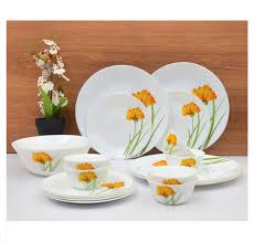 buy laopala glowing charm 19 pieces dinner set ivory