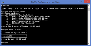 sql server create table syntax creating and dropping tables beginners guide to mysql and mariadb