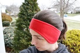 ear warmer headband fleece ear warmer headband pattern allfreesewing