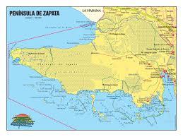 Map Cuba Zapata U2013 Vivacuba Se Cuba Tourist Board Nordic U0026 Baltic Countries