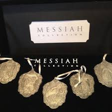 Best Messiah Collection Pewter Christmas Ornaments For Sale In