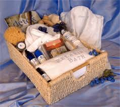 spa gift baskets signature spa gift basket