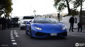 Lamborghini Huracan Blue - lamborghini huracán lp610 4 spyder 26 april 2017 autogespot