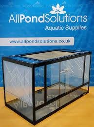 glass reptile terrarium vivarium tank 80cm amazon co uk pet