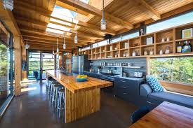 modern timber kitchen designs modern timber country cottage in georgian bay idesignarch