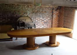 waring and gillow huge art deco extending dining boardroom table art deco gillows table c