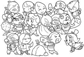 14 images chibi avengers coloring pages chibi justice league