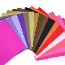 40pcs 100 polyester felt fabric the cloth diy handmade sewing