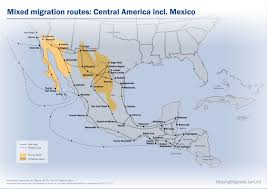 Central Mexico Map by Missing Migrants Project