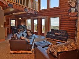 beautiful log home interiors cabin overlooking harbor beautiful log ca vrbo