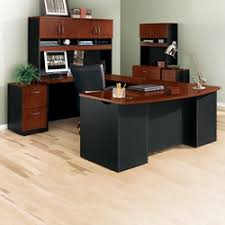 U Shape Desk U Shaped Desk Shop Wrap Around Desk With Desk Hutch Nbf