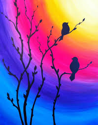 paintings to paint best 25 bird canvas paintings ideas on bird canvas