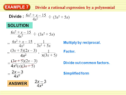 simplify a rational expression ppt video online download