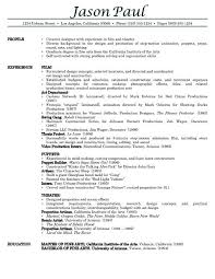 Professional Experience Resume Examples by One Job Resume Template 32 Best Images About Resume Example On