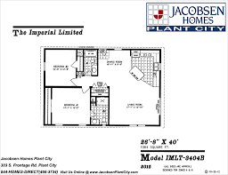 Jacobsen Mobile Home Floor Plans by 1 000 Sq Ft U2013 1 199 Sq Ft The Factory Home Store