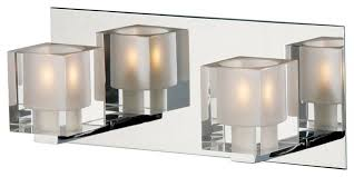 Chrome Bathroom Lights by Chrome Bathroom Vanity Light Fixtures Light Chrome Bath Bar Light