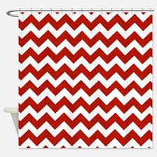 Red White Shower Curtain Red Shower Curtains Cafepress