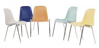 siege visiteur chaise coque pvc chaise visiteur pvc sieges visiteurs