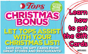 save 10 off a 50 gift card at tops markets promotion my momma