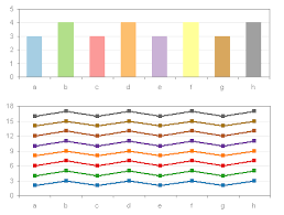 using colors in excel charts peltier tech blog