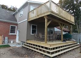 custom decks u0026 fences in kitchener u0026 waterloo