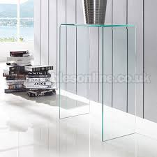 small glass console table extra small glass console table by glass tables online