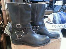 womens black leather boots size 11 frye womens harness zip boot size 11 black ebay