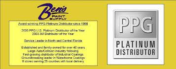 ben u0027s paint supply ppg distributor u2013 we help our customers