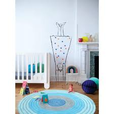 Childrens Round Rugs Ripple Blue Kids Floor Rugs Free Shipping Australia Wide Also
