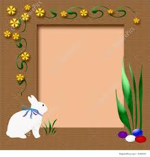 holidays easter scrapbook frame stock illustration i1599741 at