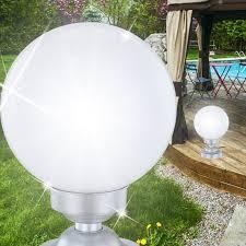 white plastic outdoor lighting solar ø200mm led white plastic outdoor floor l light garden