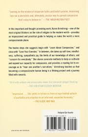 twelve steps to a compassionate life karen armstrong