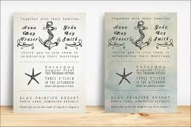 Nautical Wedding Programs 9 Beach Wedding Program Templates Psd Vector Eps Ai