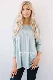 trendy blouses mint lace detail blouse modest bridesmaids dresses buy modest