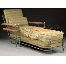 rare warren mcarthur chaise lounge