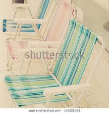 old beach chairs stock images royalty free images u0026 vectors